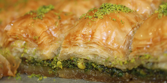 Baklava at Bristanbul